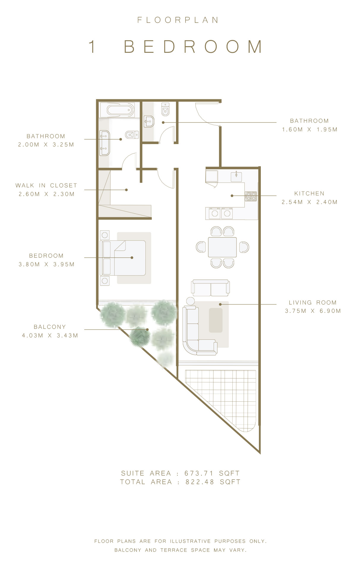 mina apartments floor plan